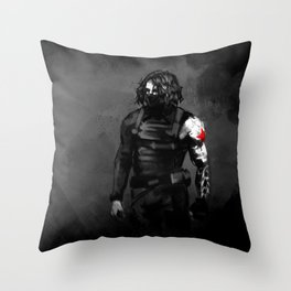 Who the hell is Bucky? Throw Pillow