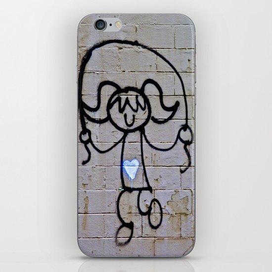 Jump Rope Street Art iPhone & iPod Skin