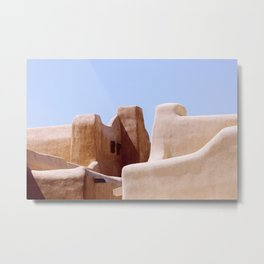 Colors of Santa Fe Metal Print