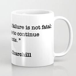 Winston Churchill Quote Coffee Mug