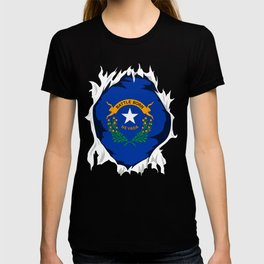 Nevada Jersey | Gift for Nevadan, NV Native Home State Flag T-shirt