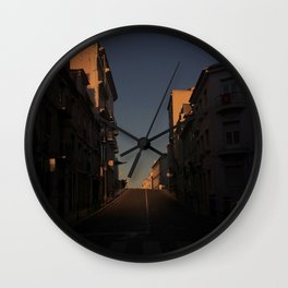 To nowhere Wall Clock