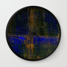 Simon Carter Painting You Can Turn It Around Wall Clock