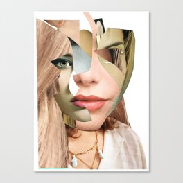 Another Portrait Disaster · Fragments 4 Canvas Print
