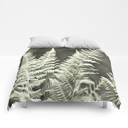 Fantasy Feather Like Fern Comforters