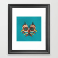 A Legendary Mask Framed Art Print