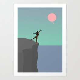 Blood Moon 2 Art Print