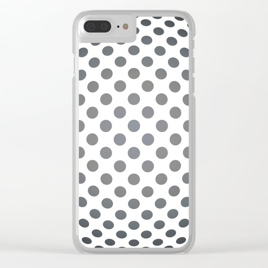 Middle distance - Optical Game 28 Clear iPhone Case