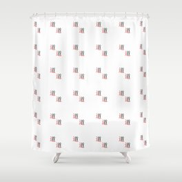 chinese ideogram : the tao Shower Curtain