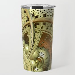Industrial Steam Punk Cogwheels Travel Mug