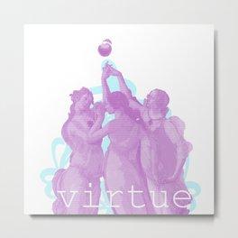 Virtue Metal Print