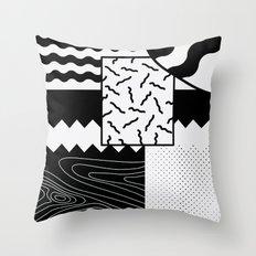 Sharkephant Throw Pillow