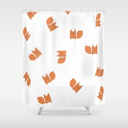 Foxy Friend Shower Curtain
