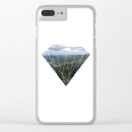 Puerto Rico Mountains Clear iPhone Case