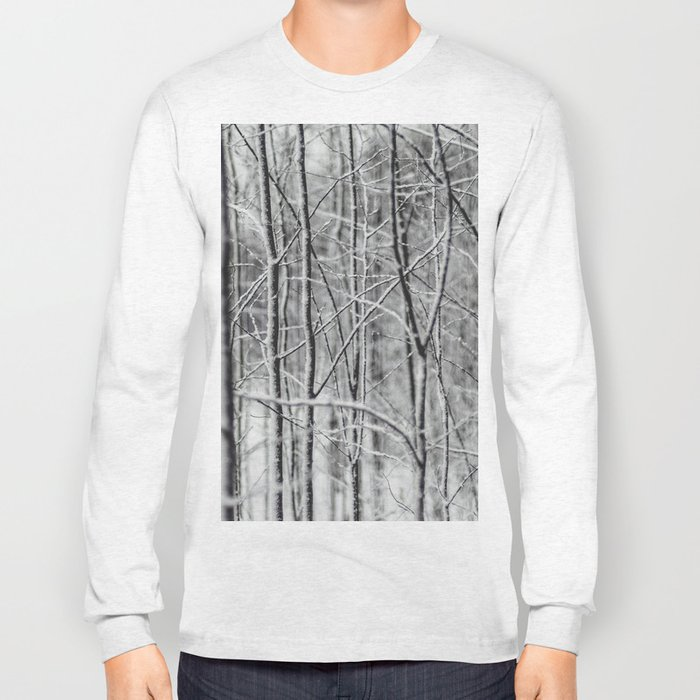 Winter gris Long Sleeve T-shirt