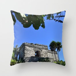 Tulum Throw Pillow