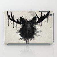 moose iPad Cases featuring Moose by Nicklas Gustafsson