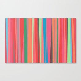 happy stripes Canvas Print