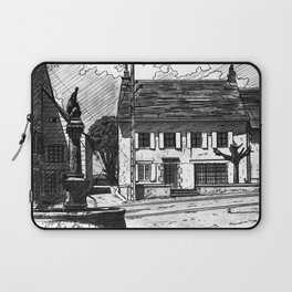 Montboudif, birthplace of Geoges Pompidou Laptop Sleeve
