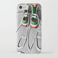 sneaker iPhone & iPod Cases featuring Sneaker Love by SefoG