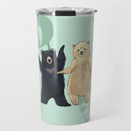 Dancing Bears Travel Mug
