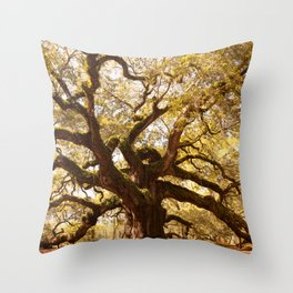 Angel Oak 5 Throw Pillow