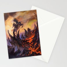 Lavaclaw Reaches Stationery Cards