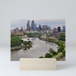 Philadelphia from the Schuylkill Mini Art Print