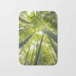 Bamboo forest in Japan Bath Mat