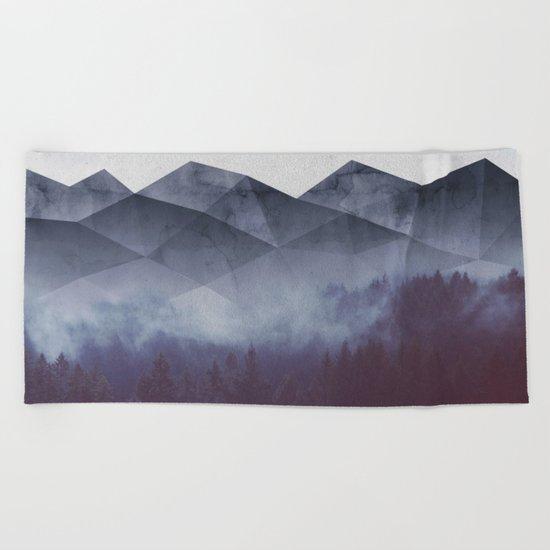Winter Glory Beach Towel