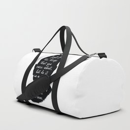 Ruth Bader Ginsburg Quote Duffle Bag