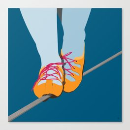 Thin Line Canvas Print