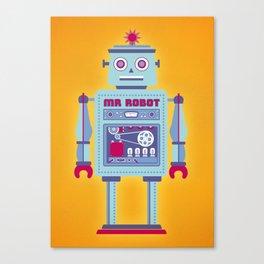 Mr Robot Canvas Print