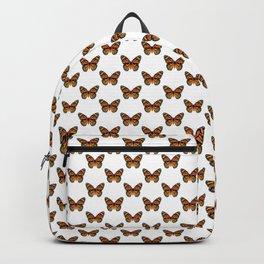 Monarch Butterfly Pattern Backpack