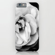 Black and White Flower Photography Slim Case iPhone 6s