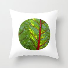 bloodstream III Throw Pillow