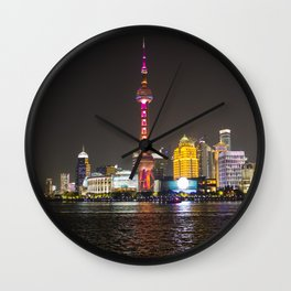 Pearl Tower Shanghai Wall Clock