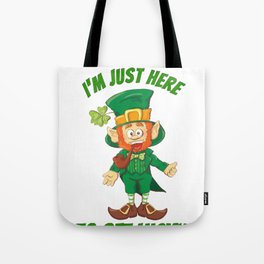 Leprechaun get Lucky Tote Bag