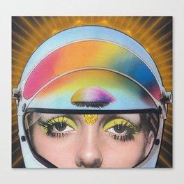 Intergalactic Girl Canvas Print