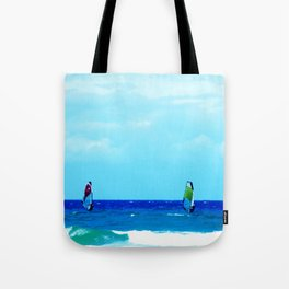 Windsurfers Tote Bag