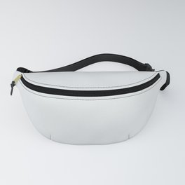 Behr Swirling Water (Neutral Off White / Super Light Gray) PR-W10 Solid Color Fanny Pack