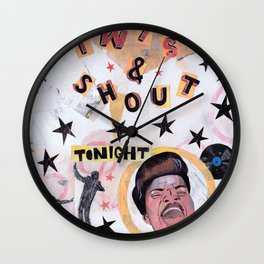 Twist & Shout! Wall Clock