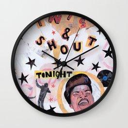 Twist & Shout! Wall Clock