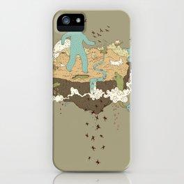 Frog Rain iPhone Case