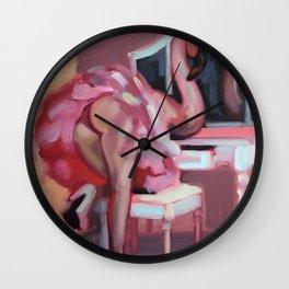 I flamingo Wall Clock