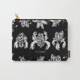 T.F TRAN ZEBRA FLORALS Carry-All Pouch