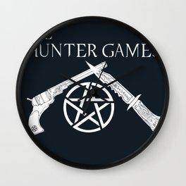 The Hunter Games Wall Clock