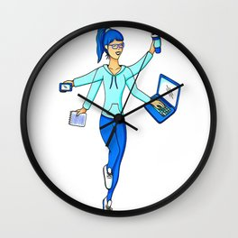 multi tasking Wall Clock