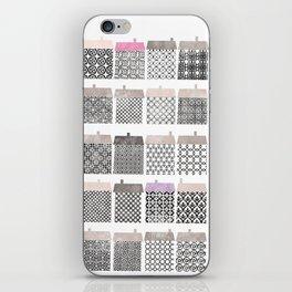 Casitas esgrafiadas. Houses. Casas iPhone Skin