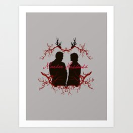 Murder Husbands Art Print